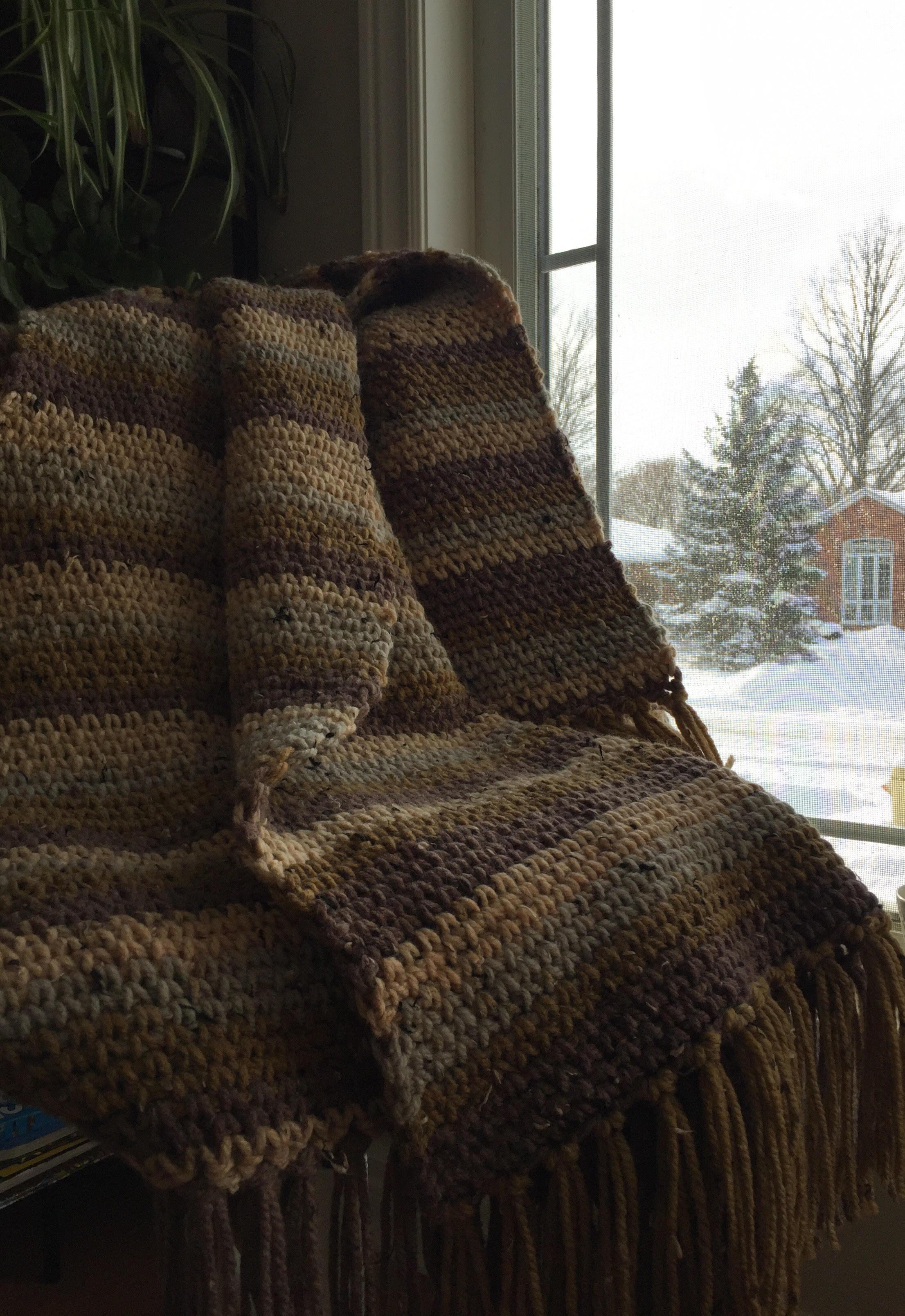 Caron Sprinkle Cakes Crochet Blanket