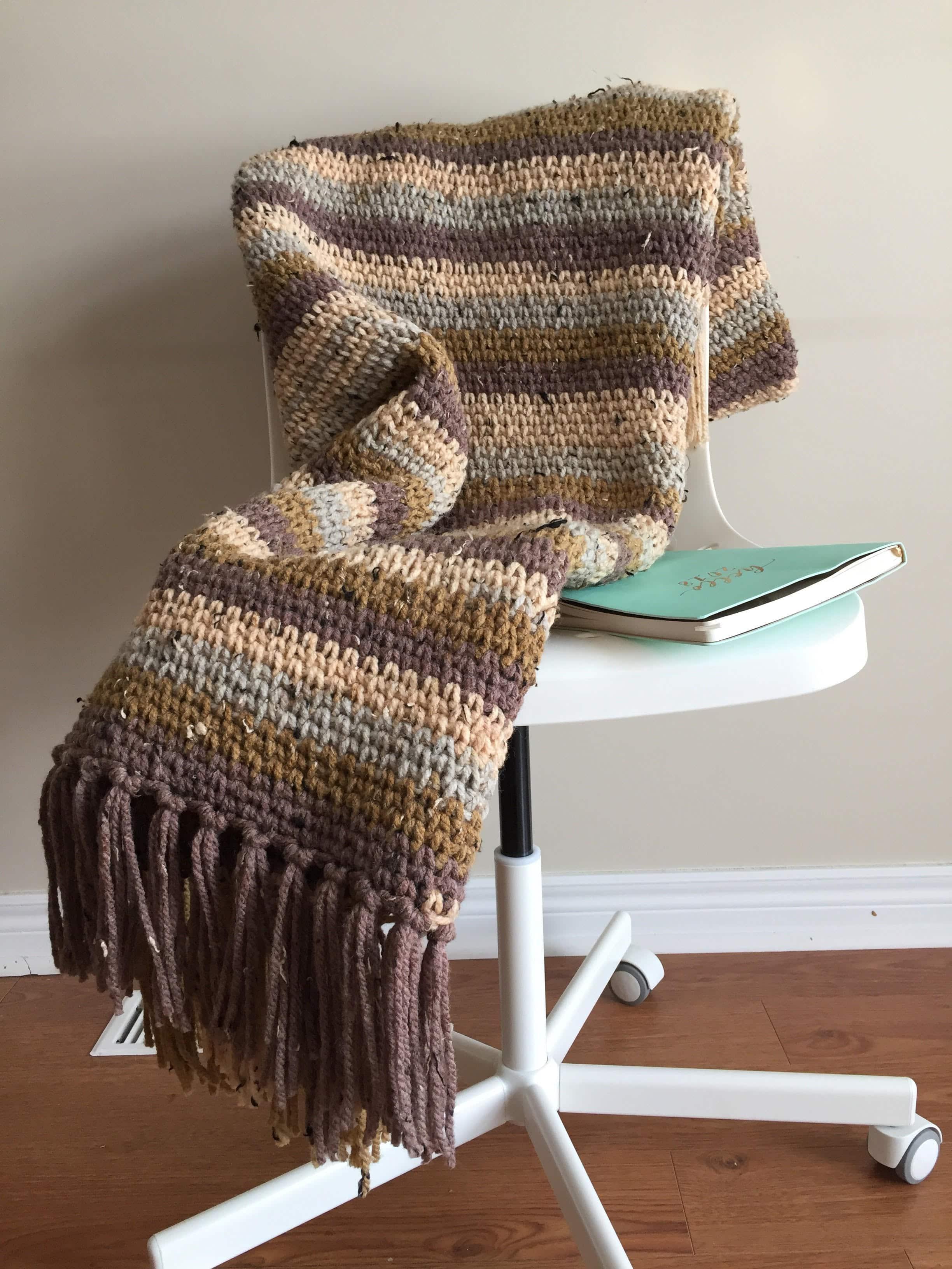 easy crochet blanket crochet pattern