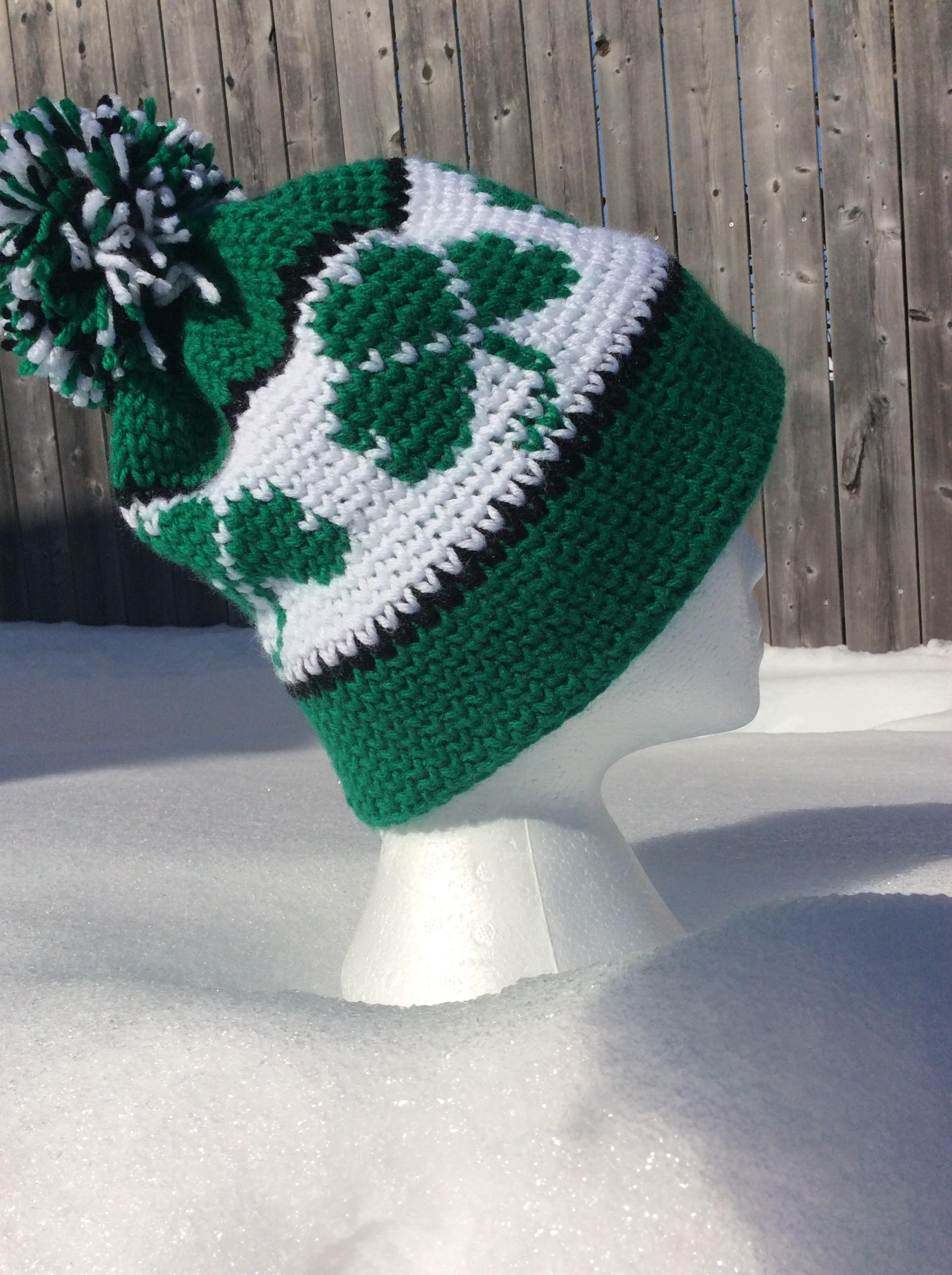 Crochet Shamrock Hat