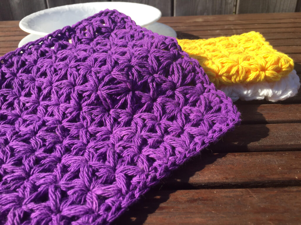 Spring Cleaning Day Five The Jasmine Washcloth A Free