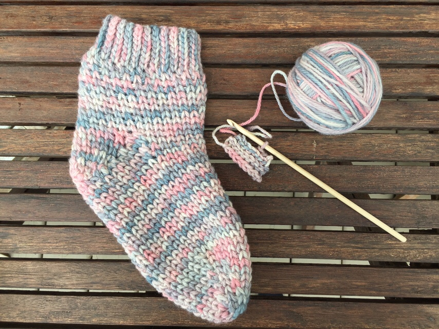cozy crochet socks