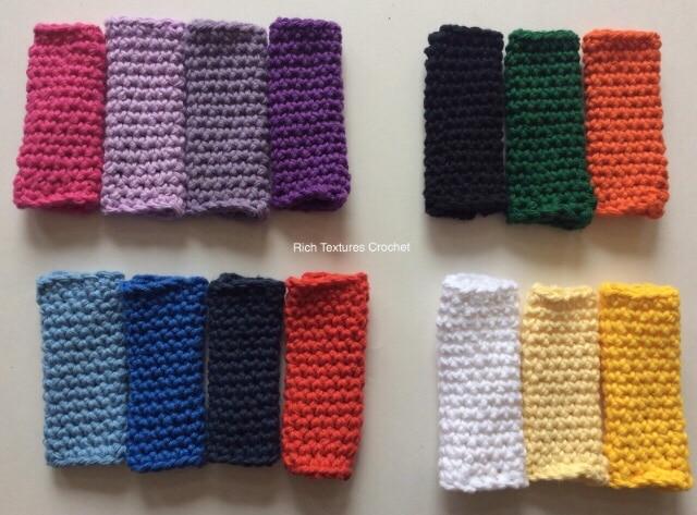 Crochet Freezie Sleeves