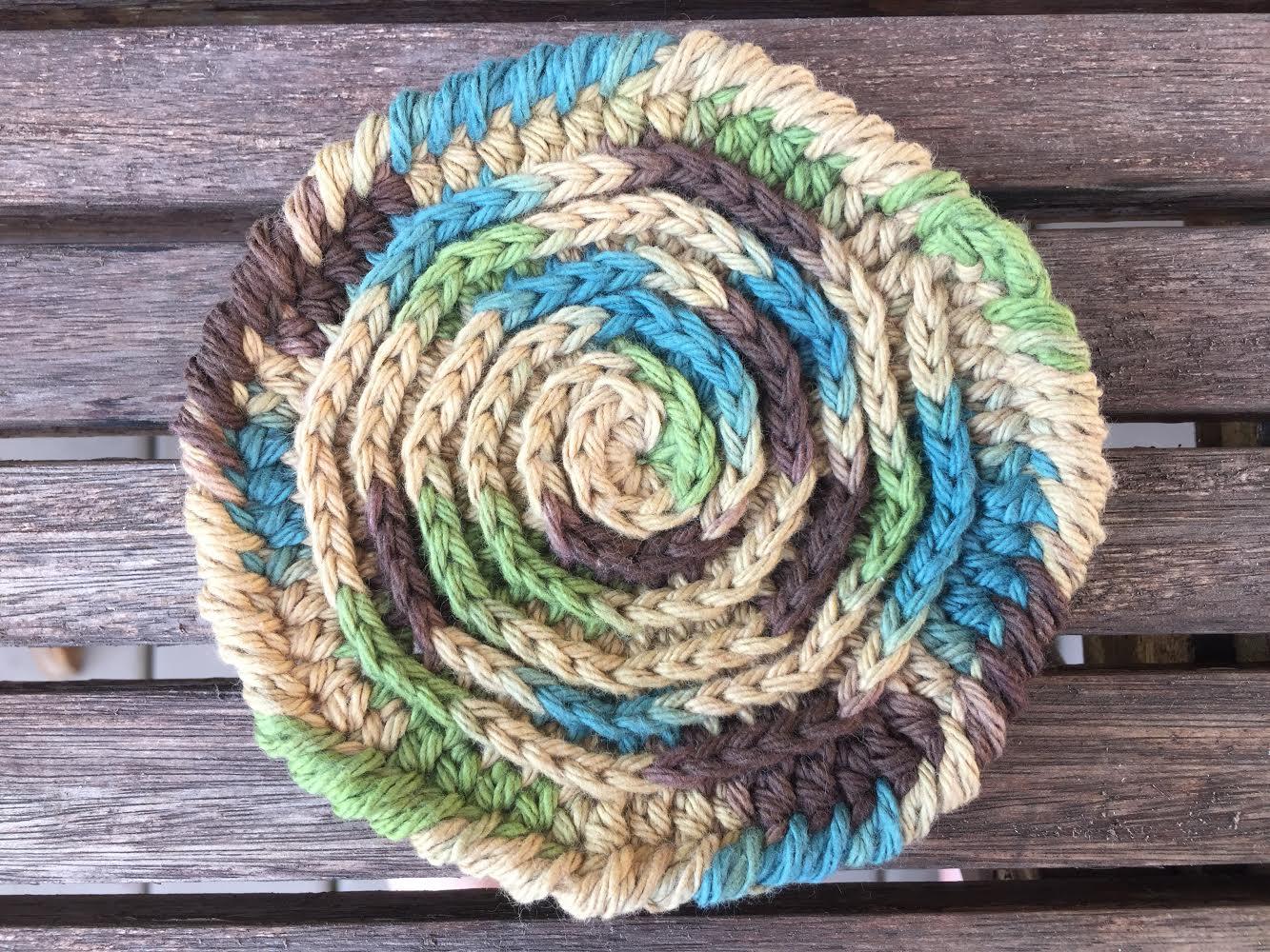 unique crochet country coasters