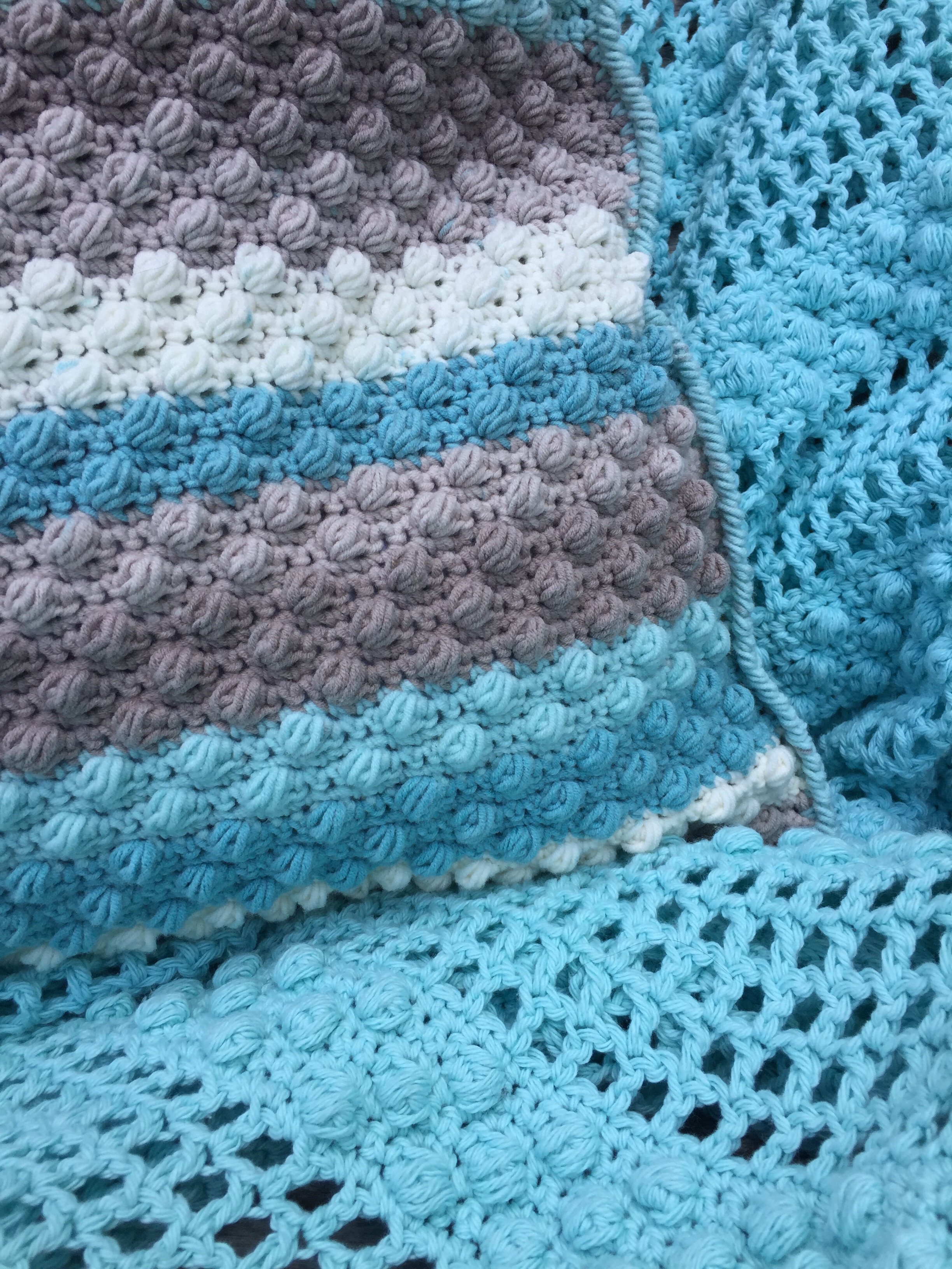 Crochet Cotton Throw