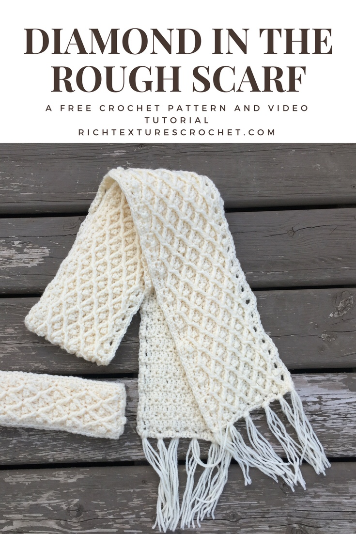 Crochet Winter Scarf