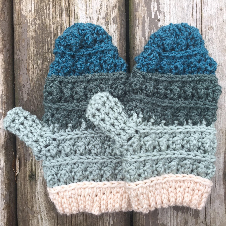 Crochet Mittens