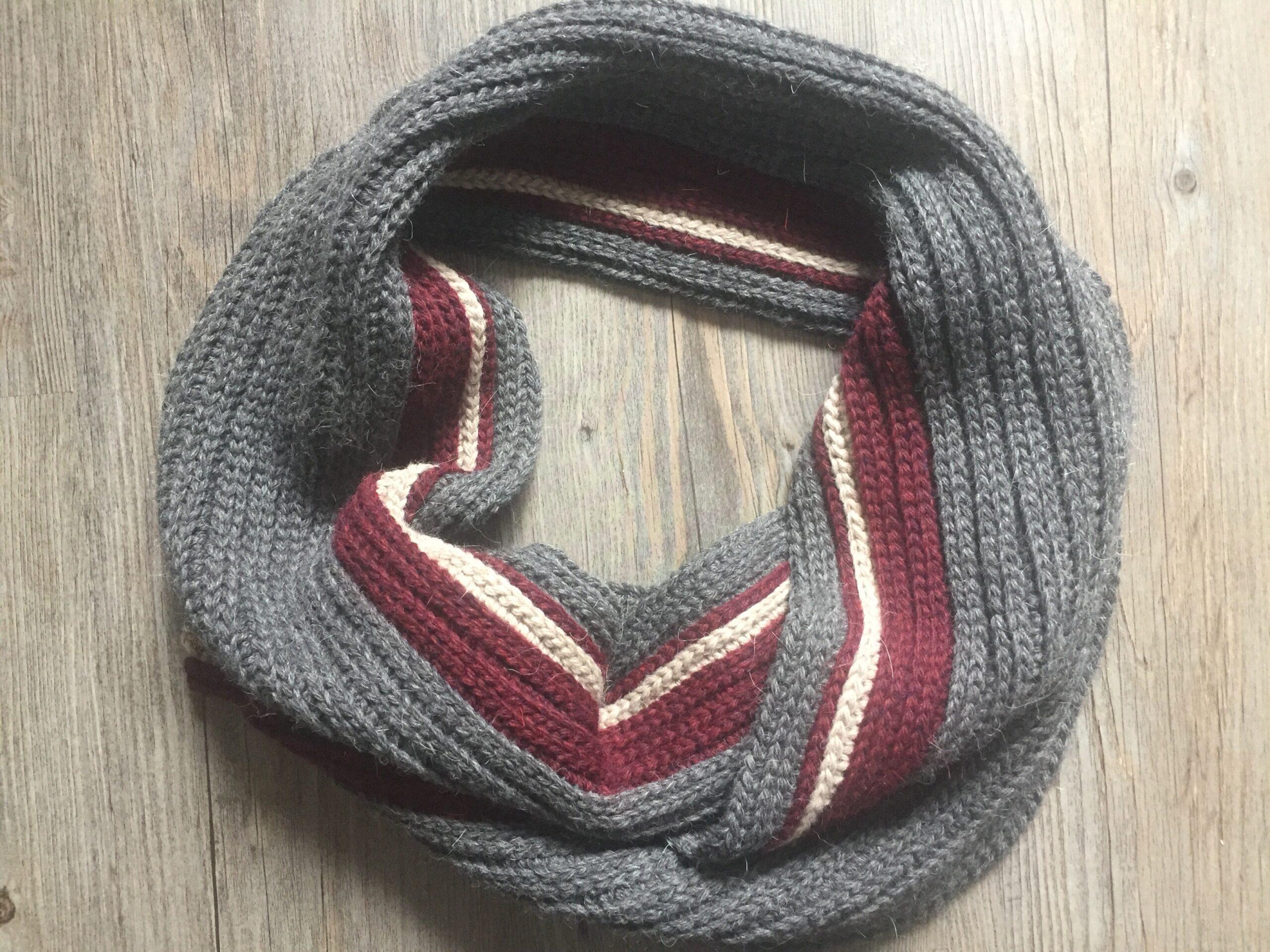 Mens Crochet Scarf 5