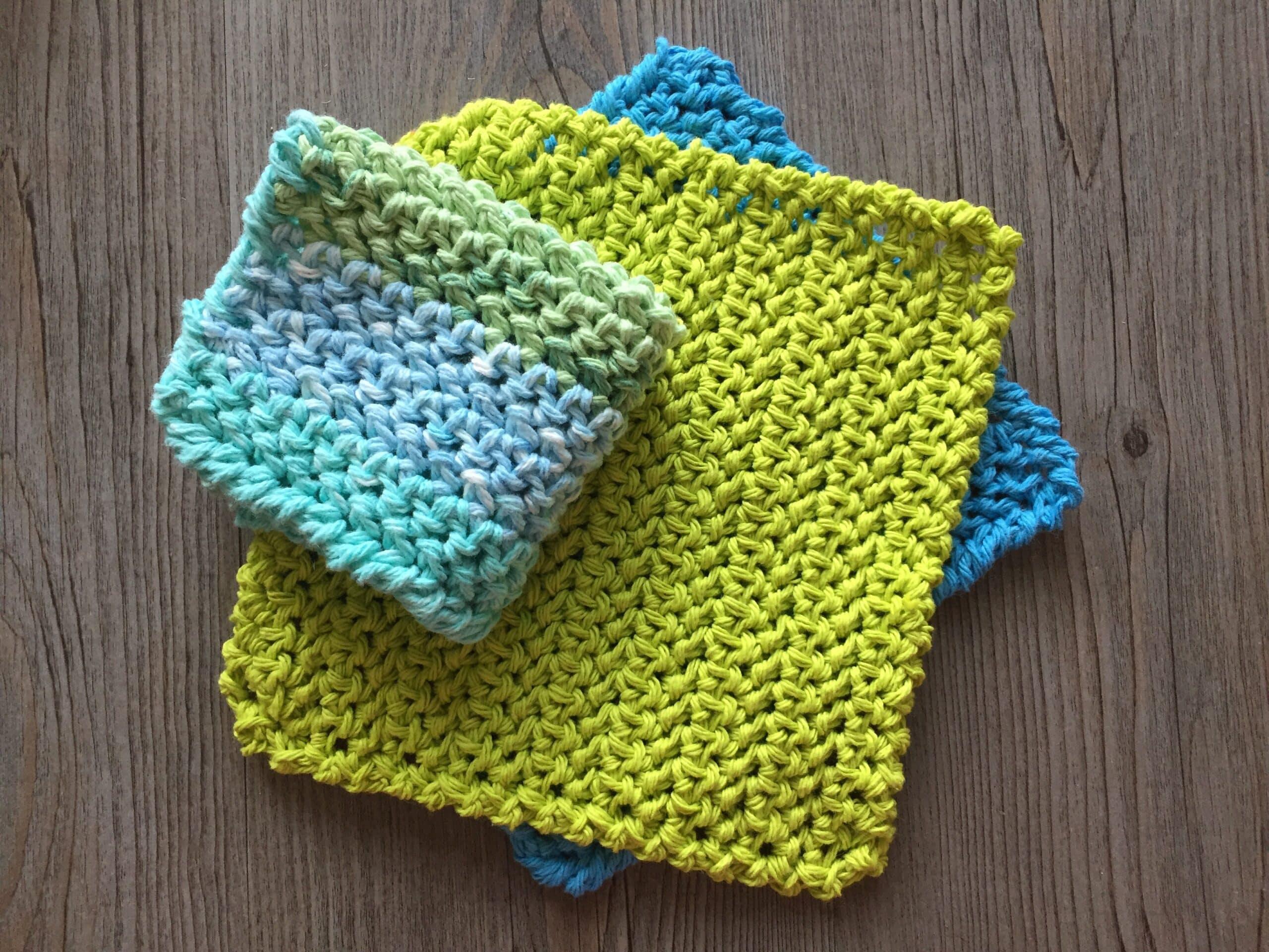 Easy Crochet Dishcloth3