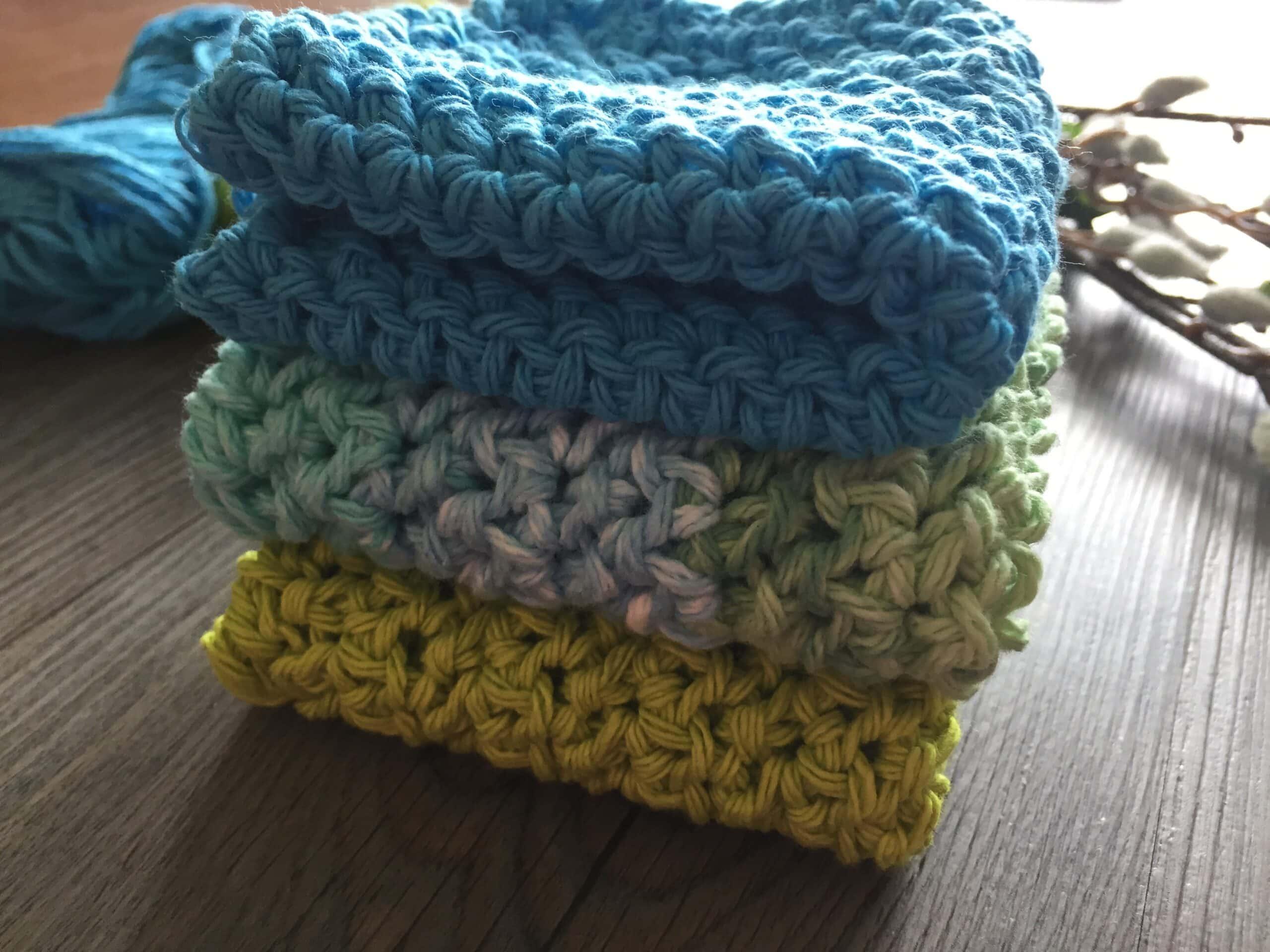 Easy Crochet Dishcloth4