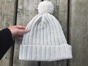 easy crochet winter hat for men and women