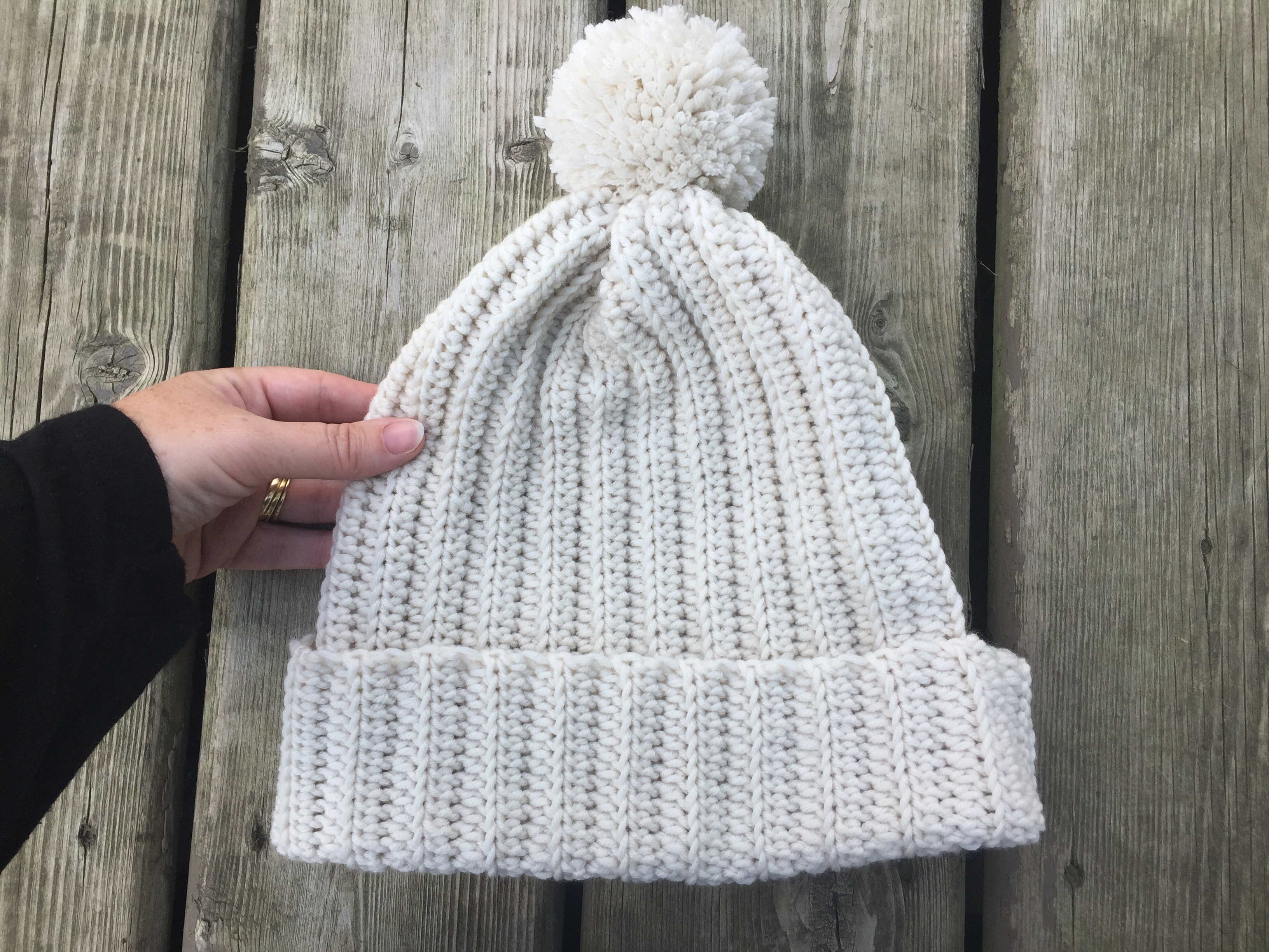 easy crochet winter hat for men and women