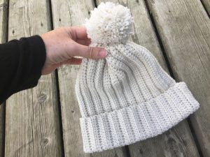 easy winter crochet beanie
