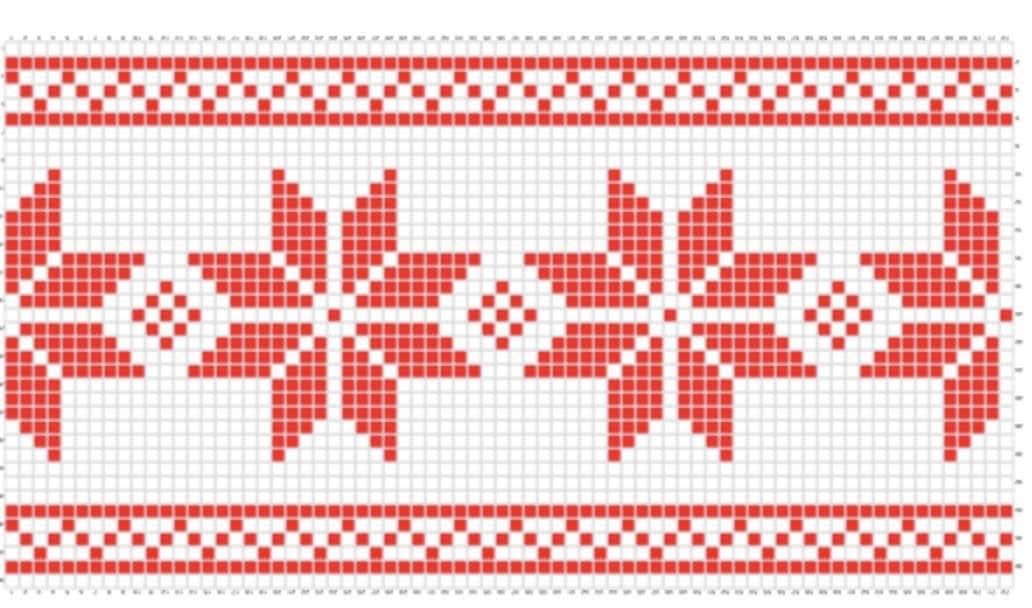 CHRISTMAS Stocking chart