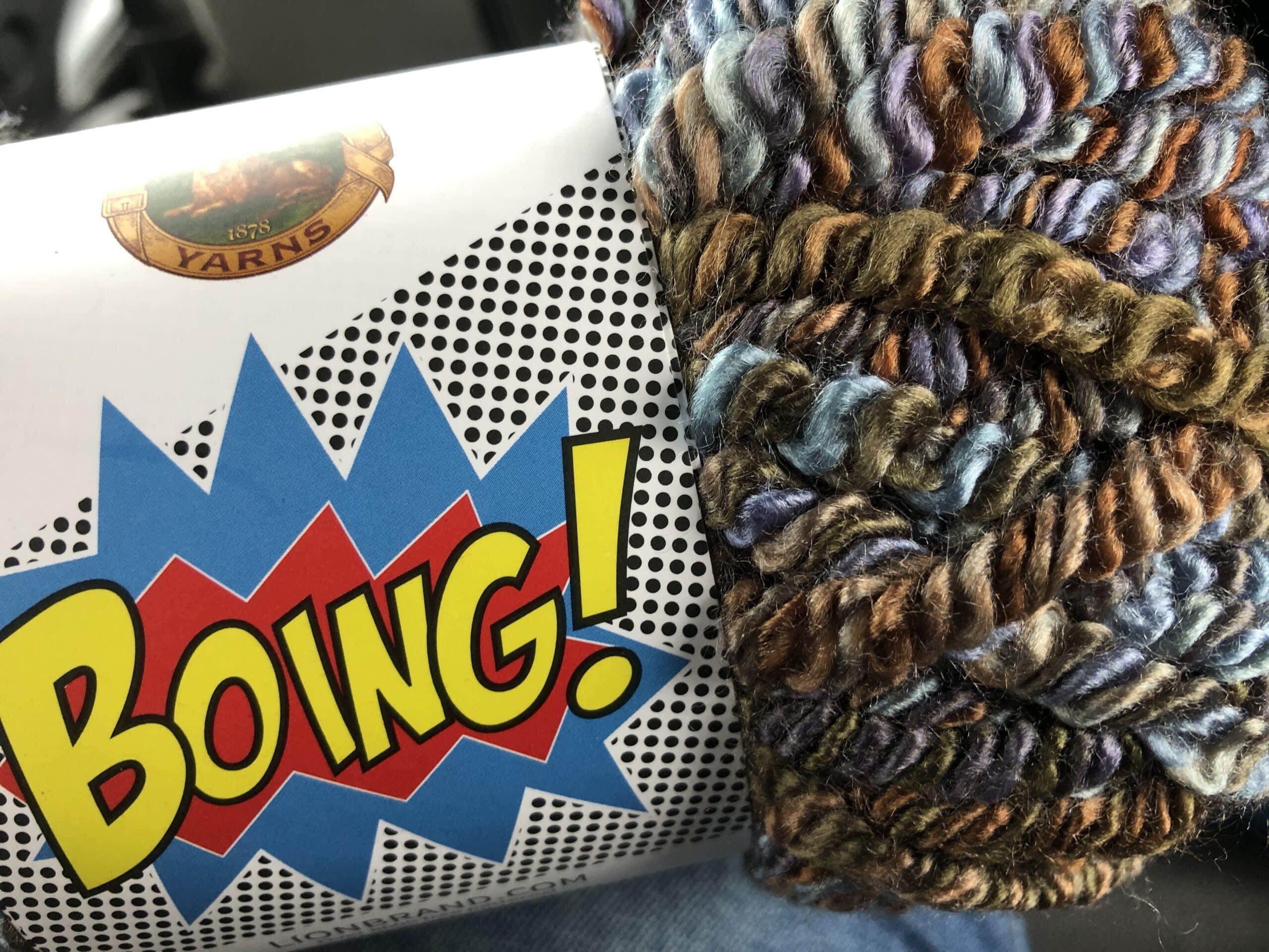 Boing! yarn