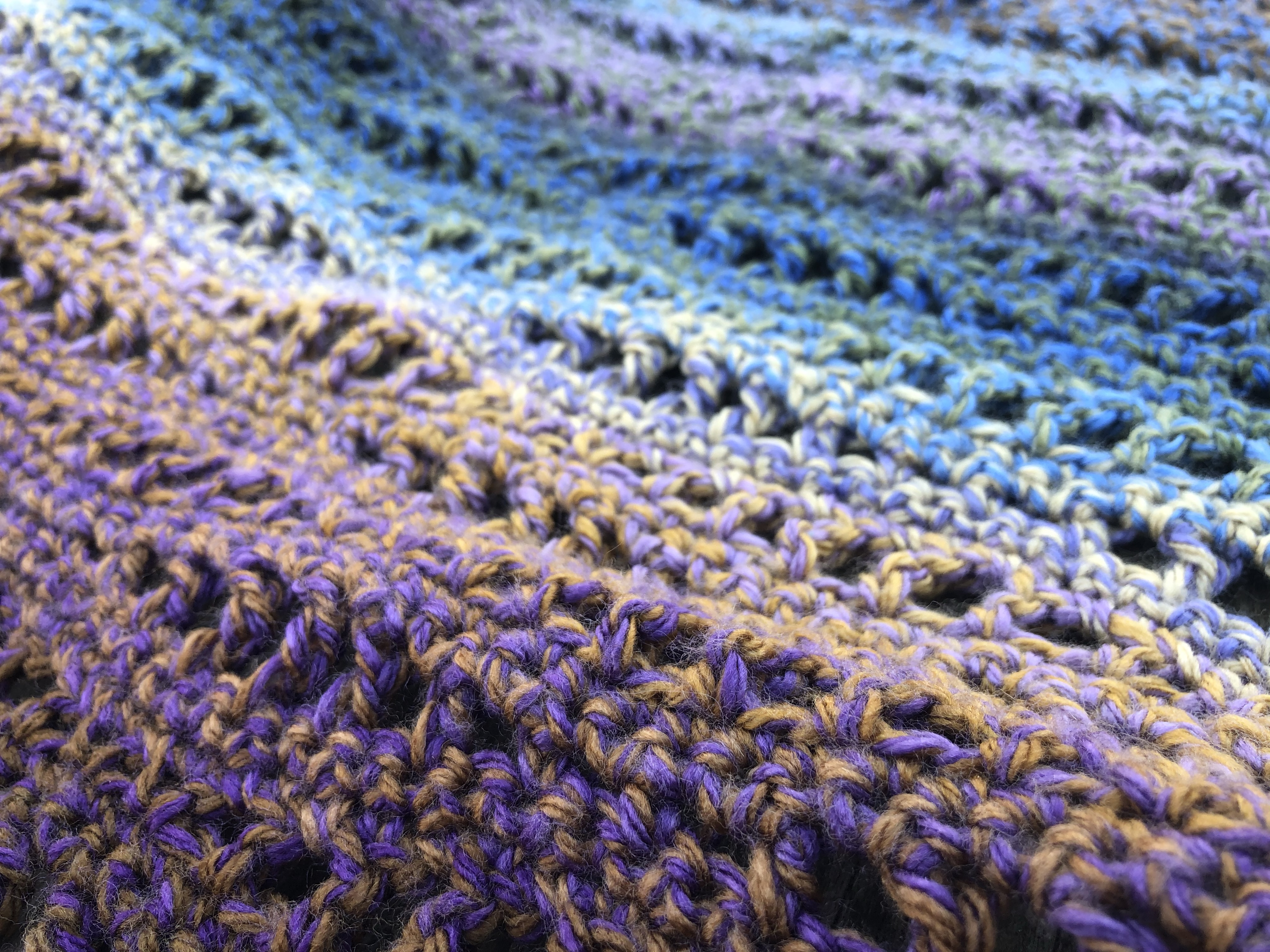 Easy Crochet Shawl