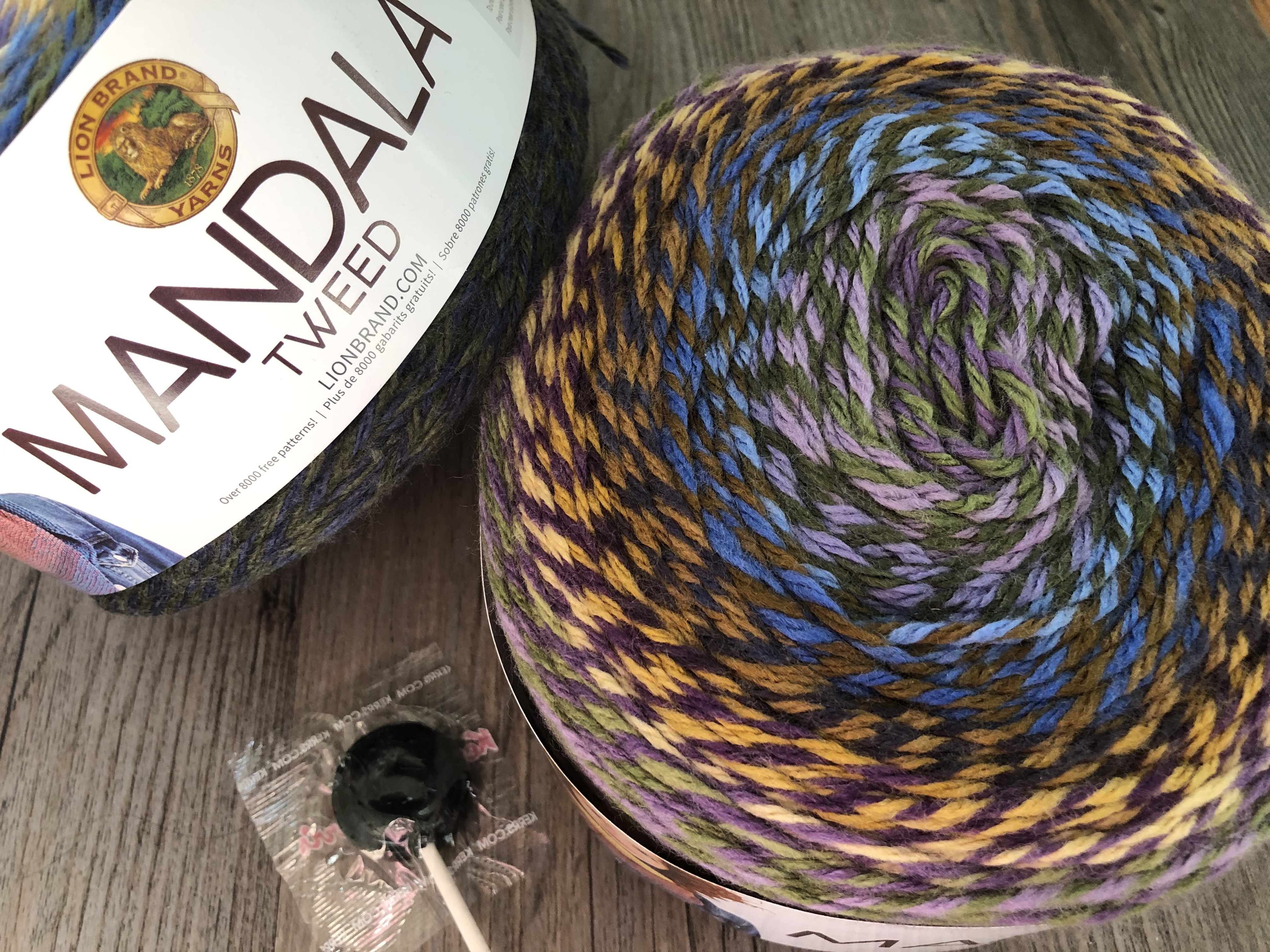 Mandala Tweed Yarn