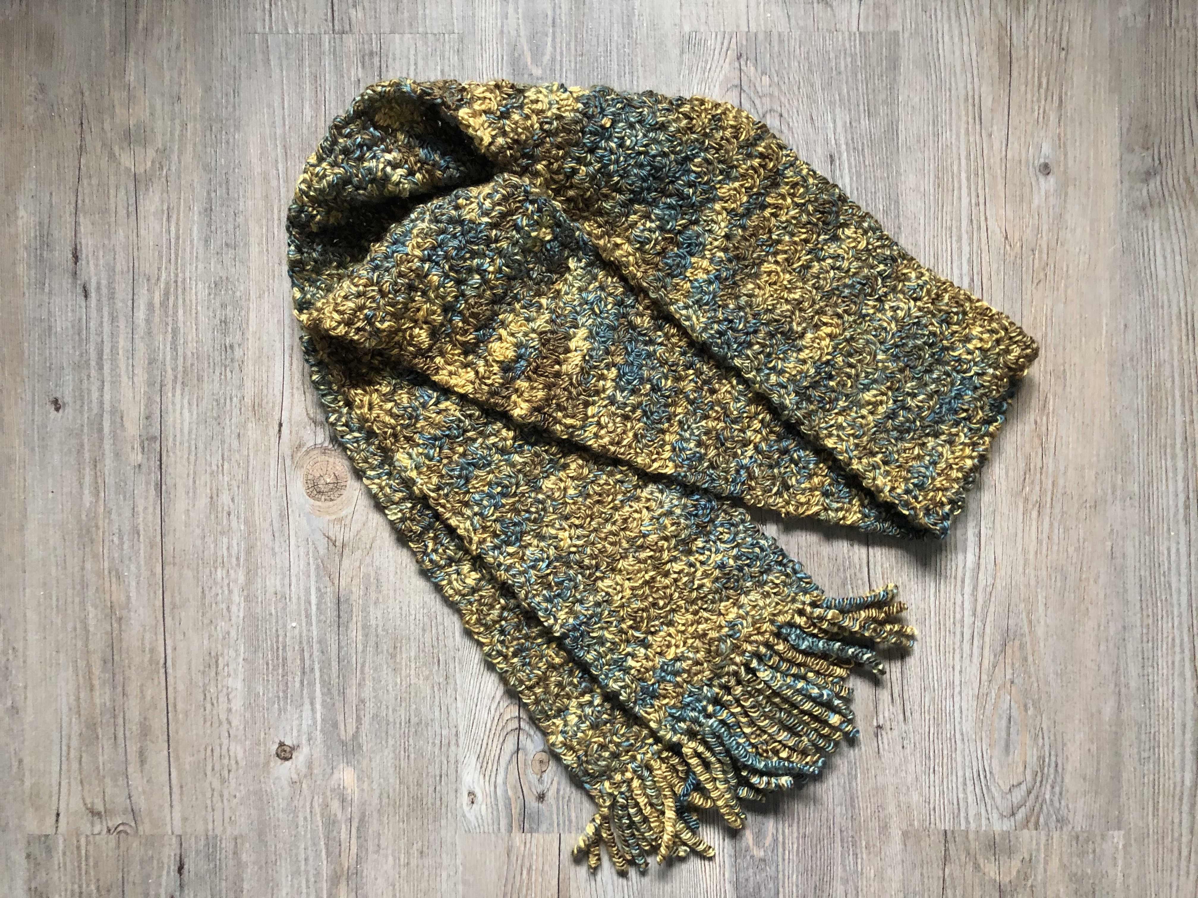 lemon peel scarf