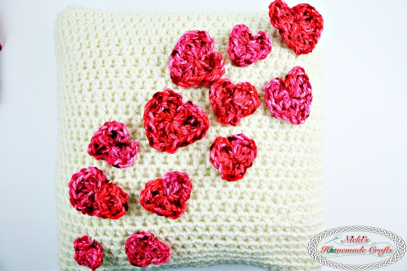 Flying Hearts Pillow