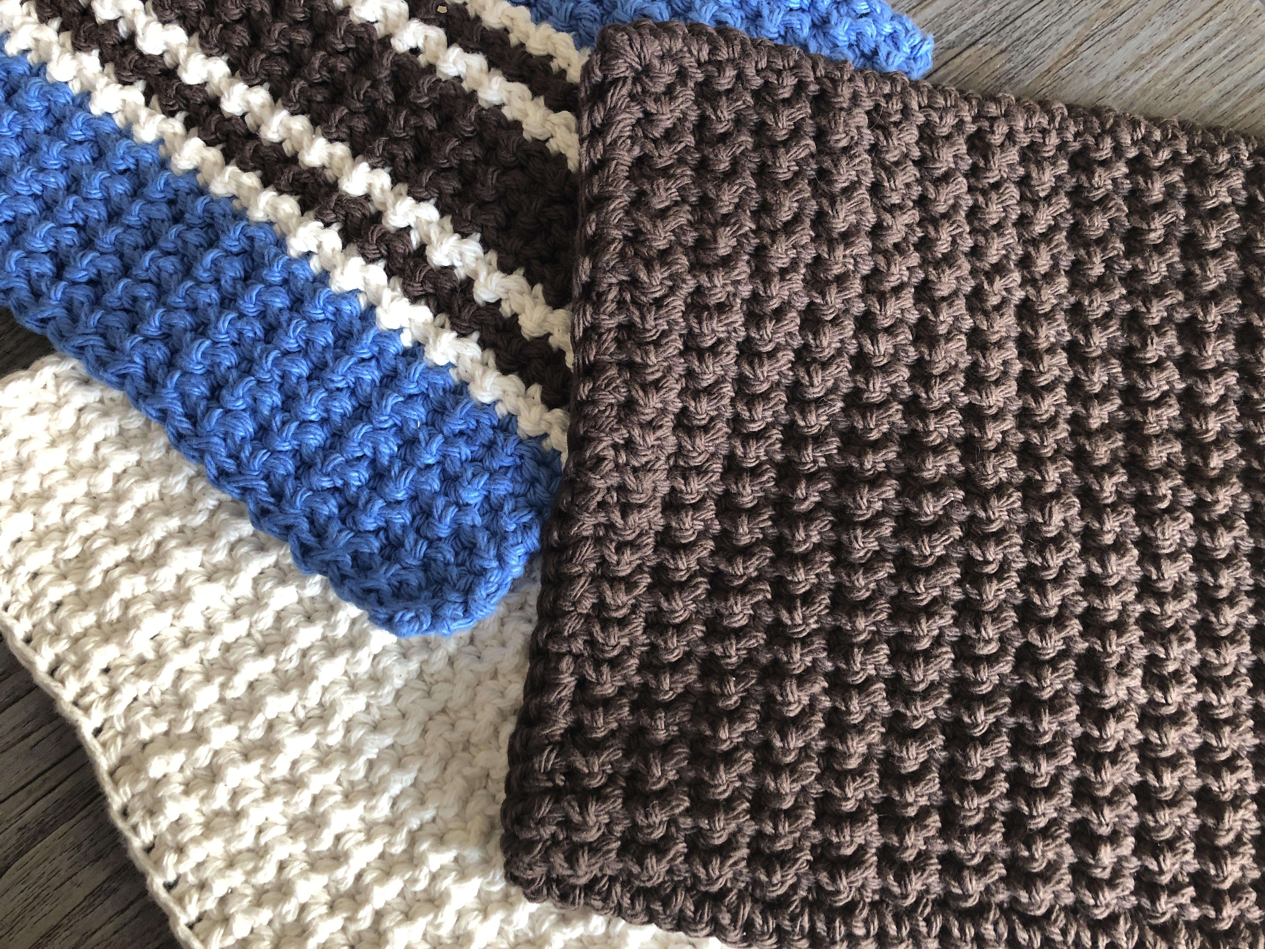 Crochet Washcloth 2