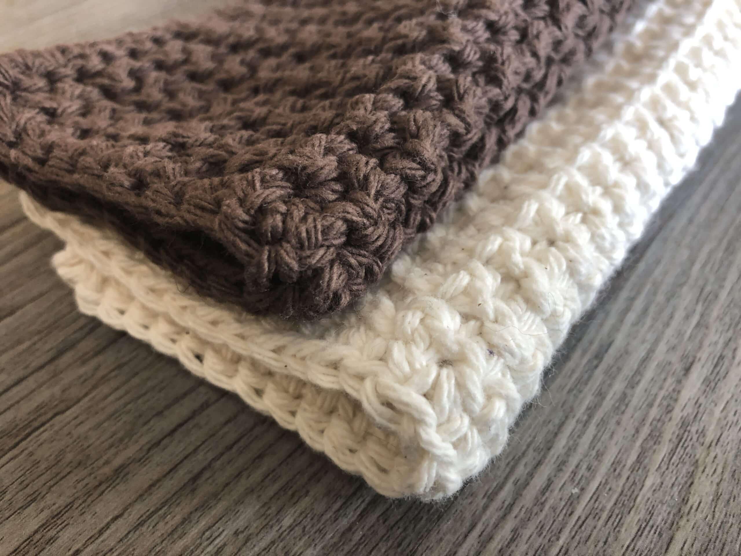 Crochet Washcloth 4