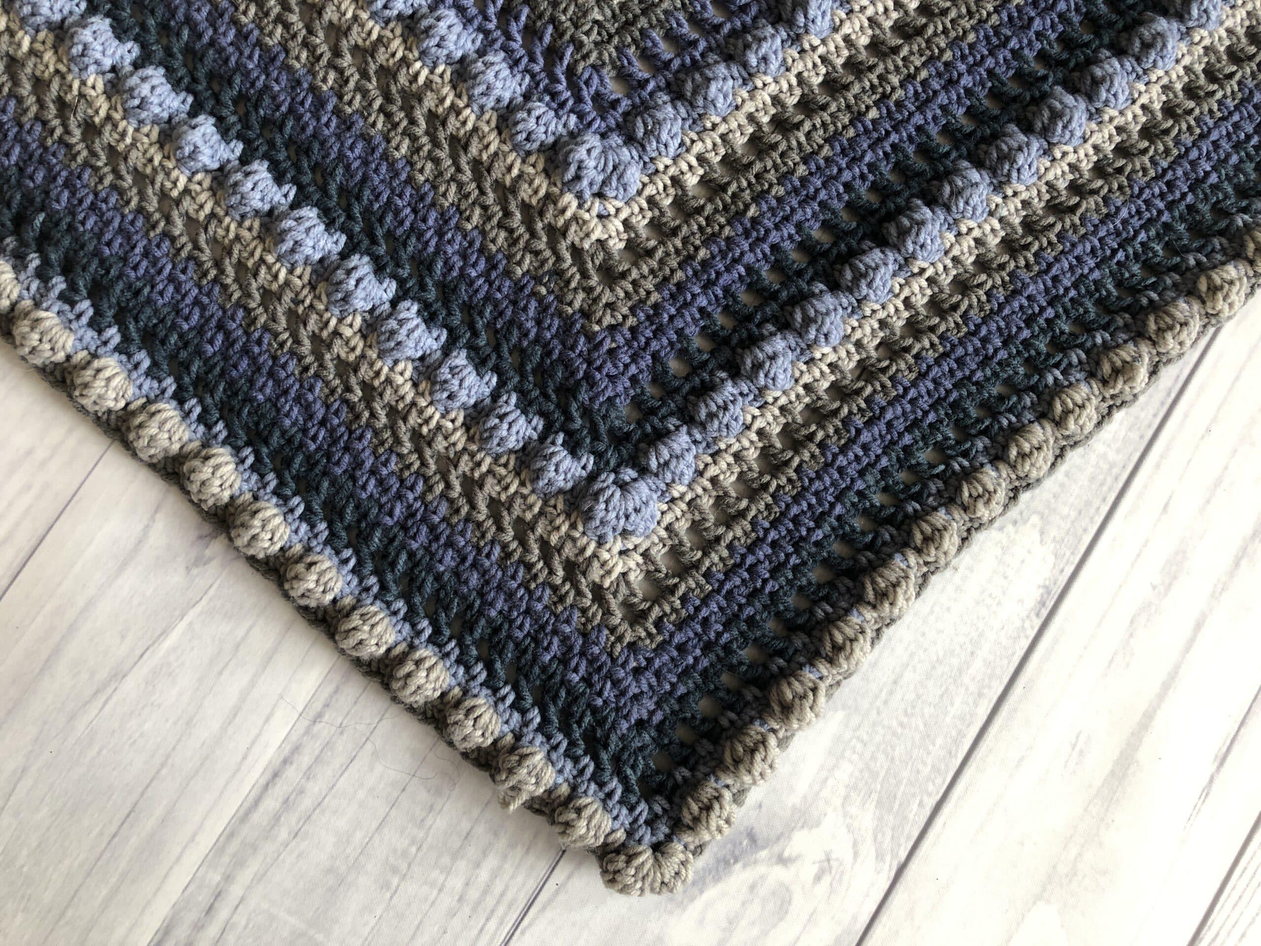 Crochet Triangle Shawl2