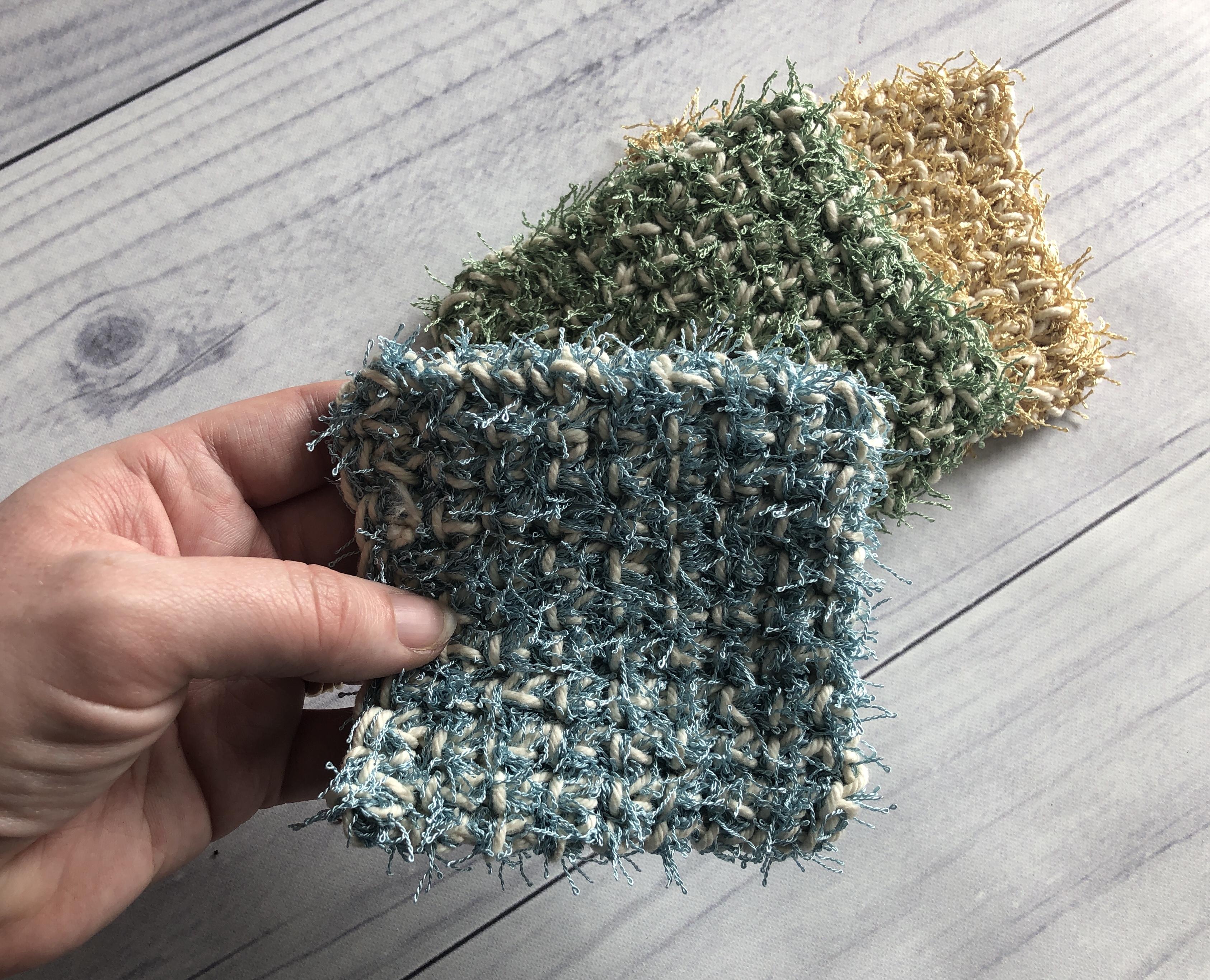 easy crochet scrubby4