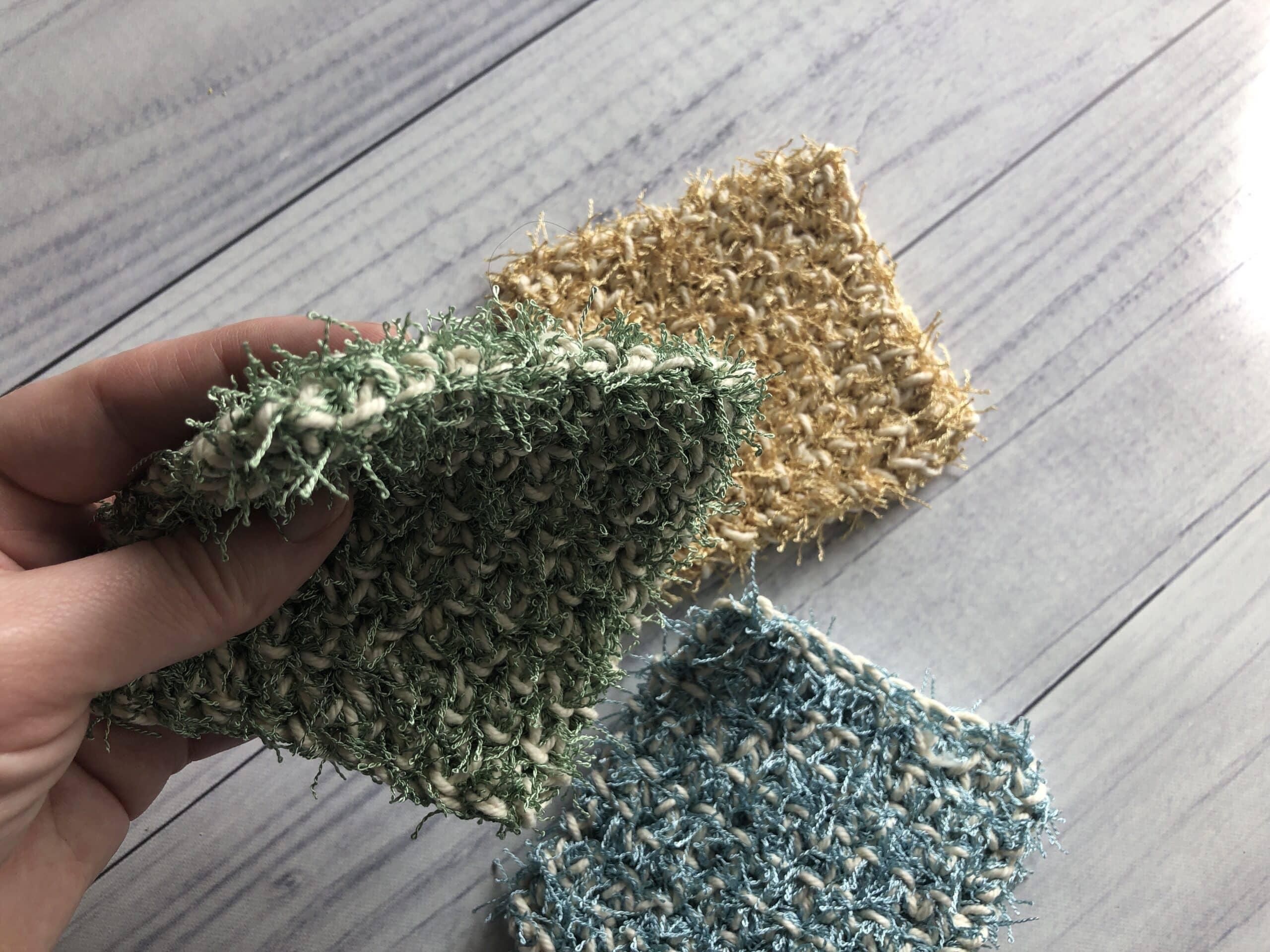 easy crochet scrubby3
