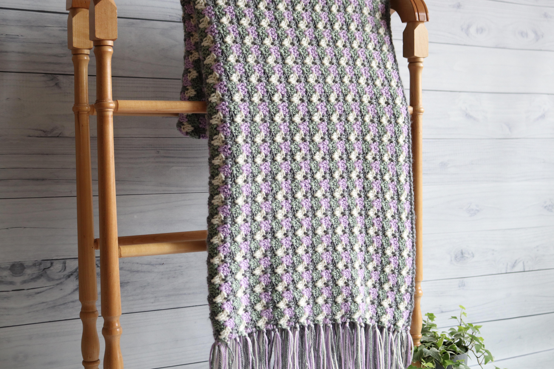 Granny Spike Blanket 3