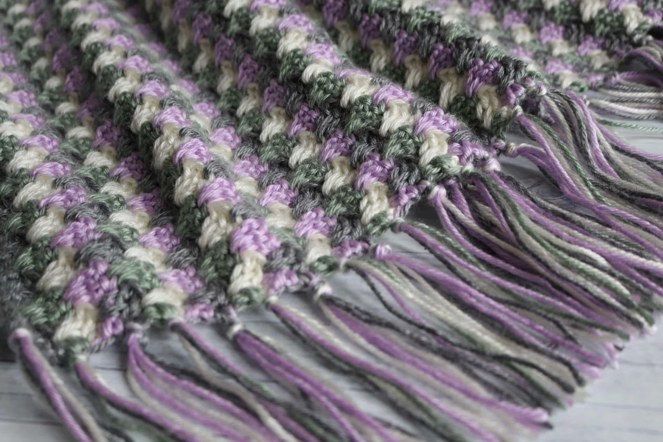 Granny Spike Blanket 1