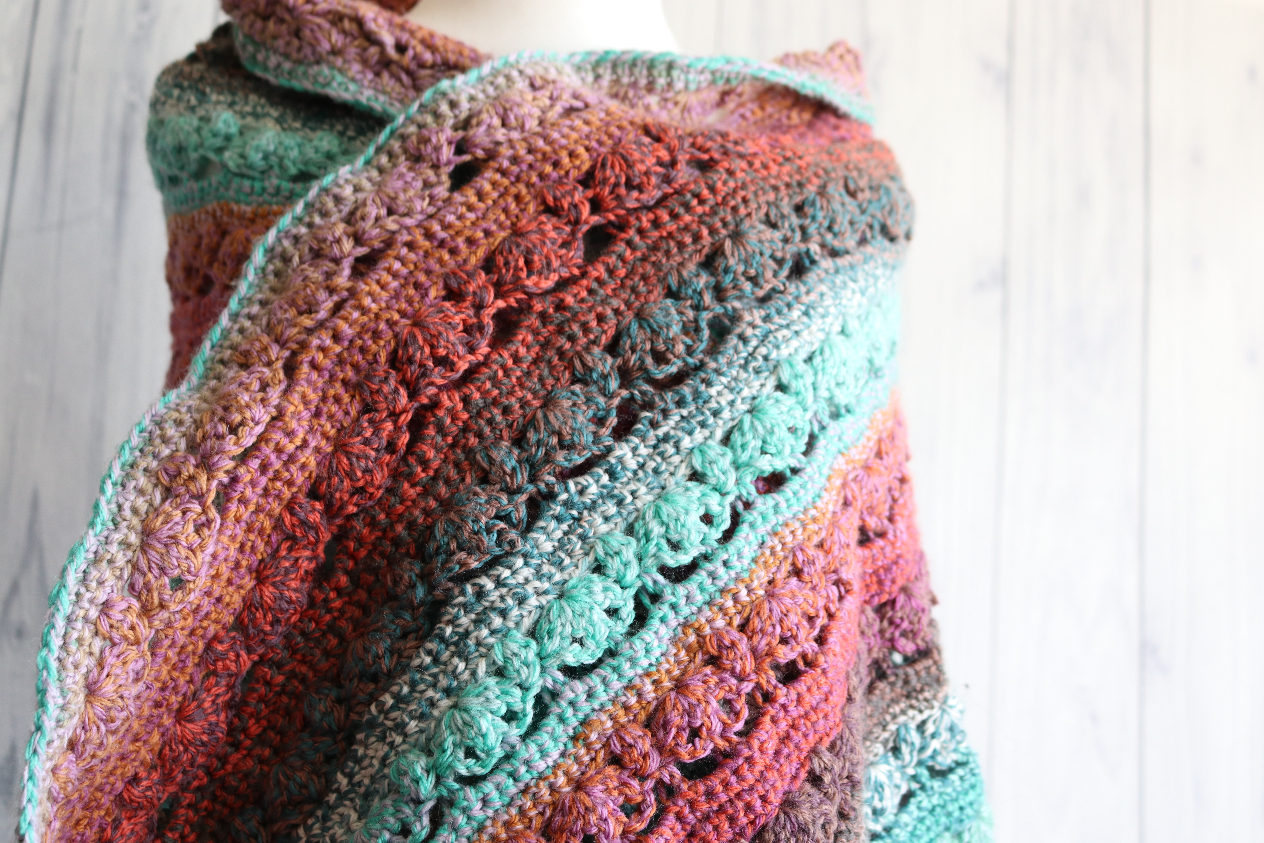 Crochet Shawl 1