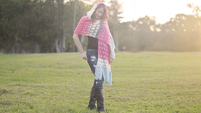 Piper Hooded Shawl