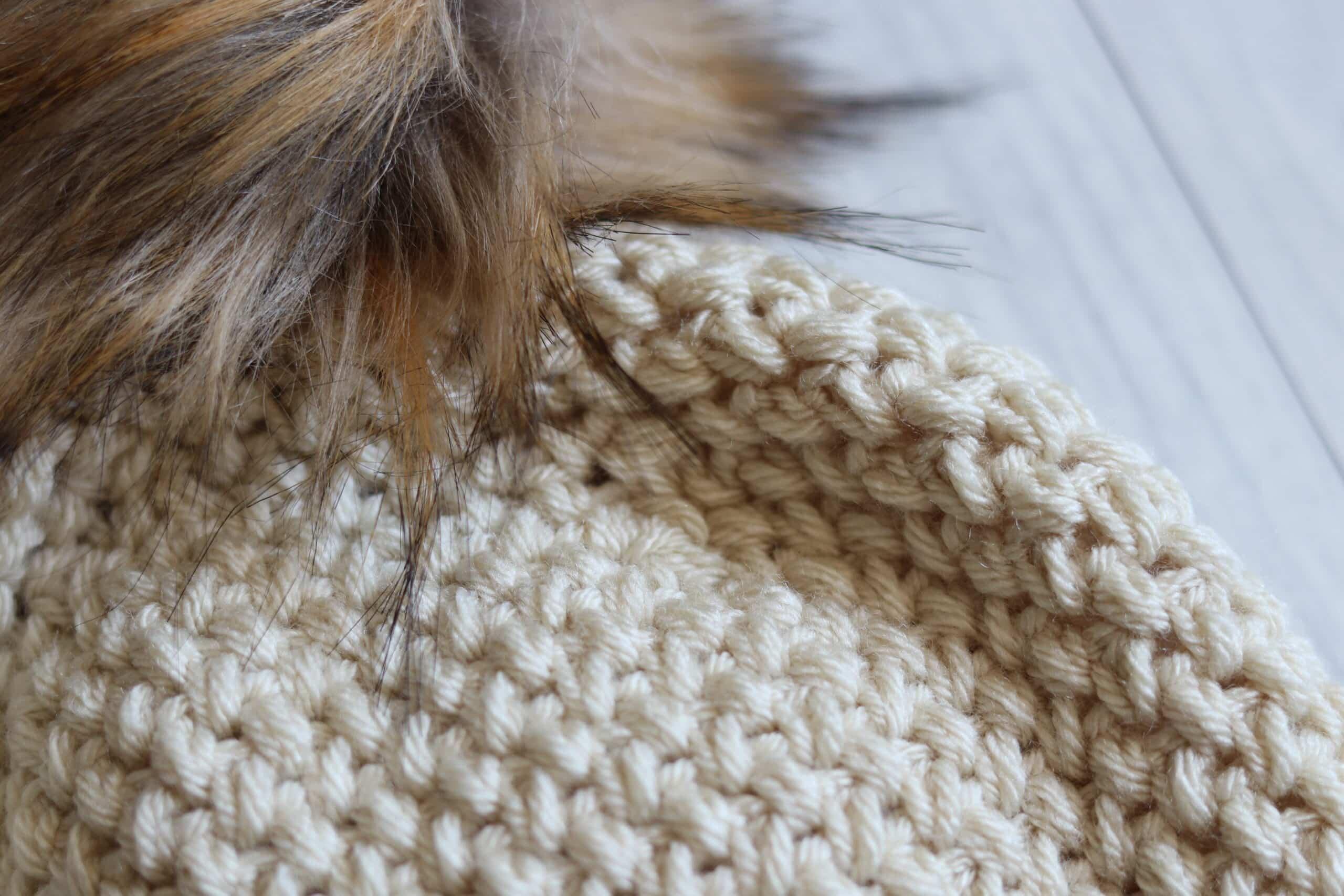 pompom texture Elizabeth stitch