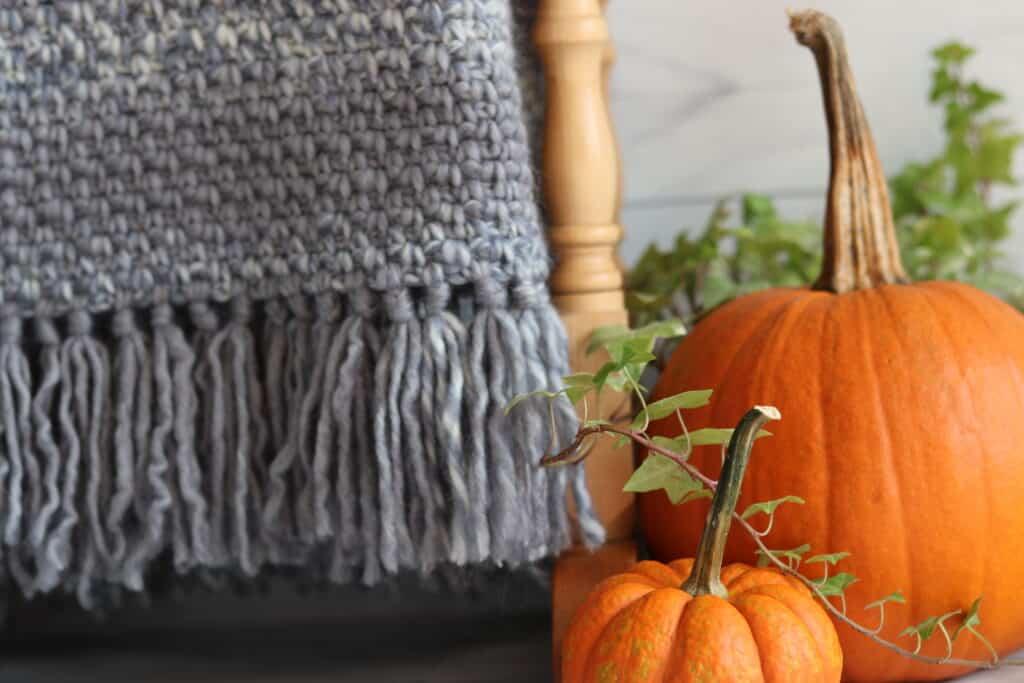 easy crochet blanket fringe