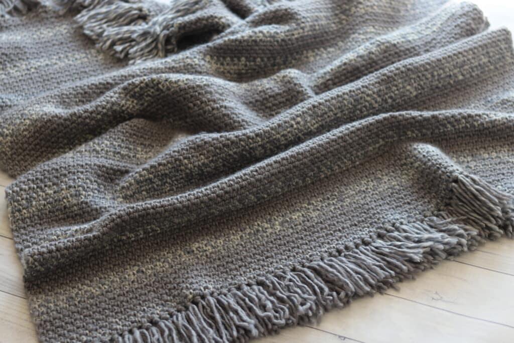 easy crochet blanket for absolute beginners