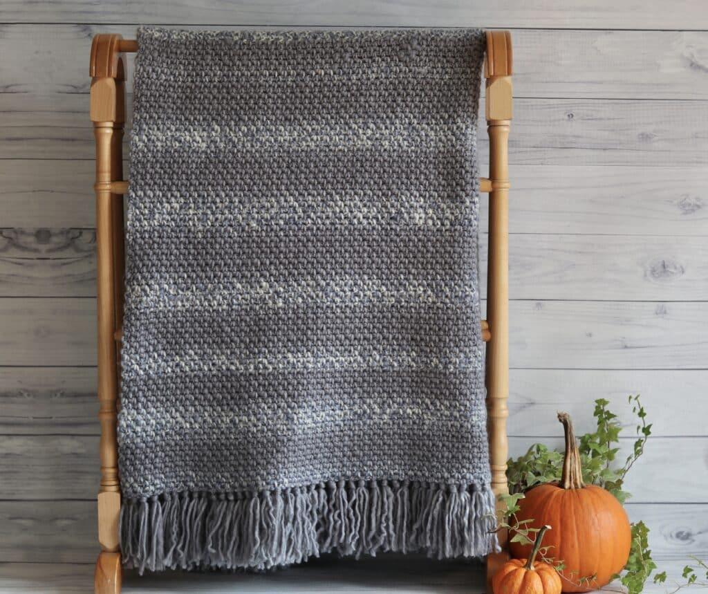 crochet blanket for absolute beginner