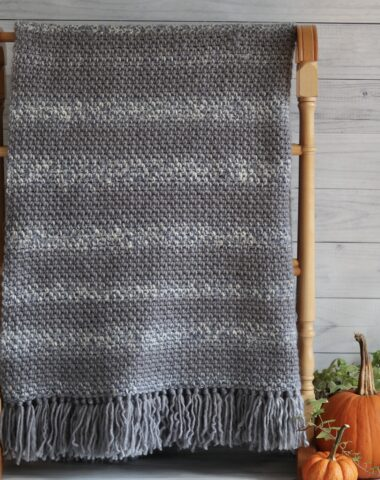 crochet blanket for absolute beginner