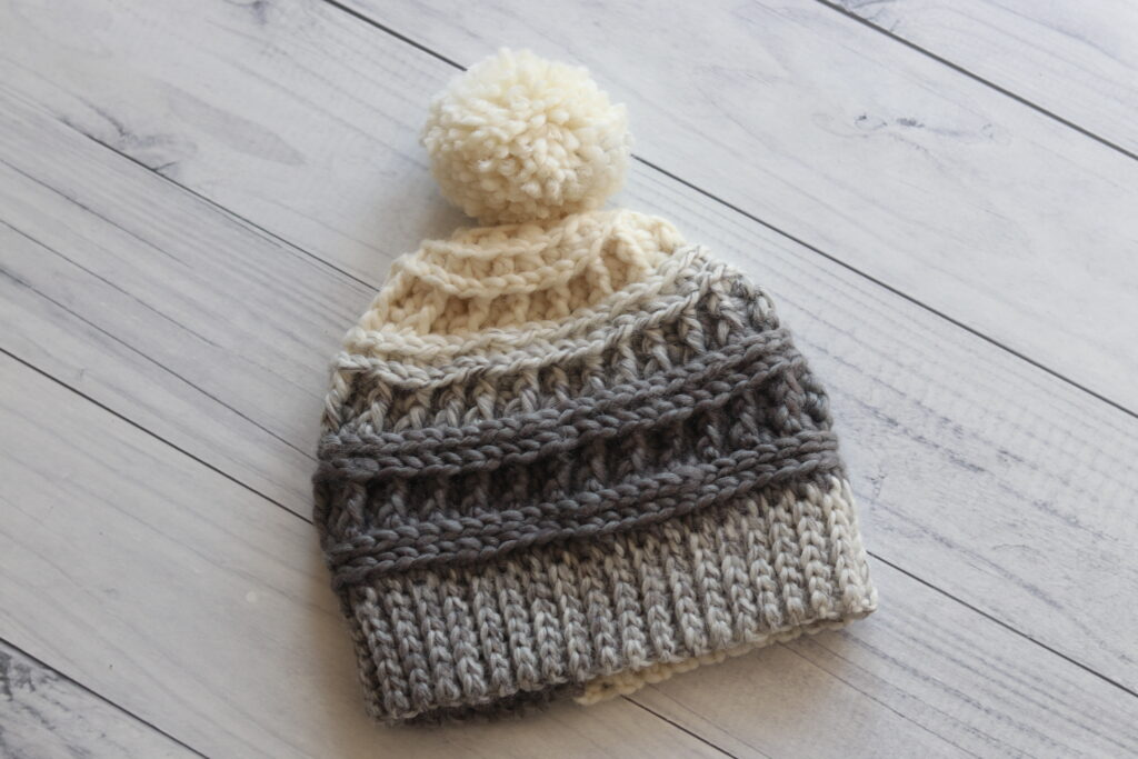 the misty beanie crochet hat pattern