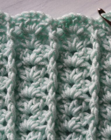 post and shell crochet stitches