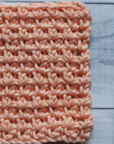 crochet pike stitch swatch