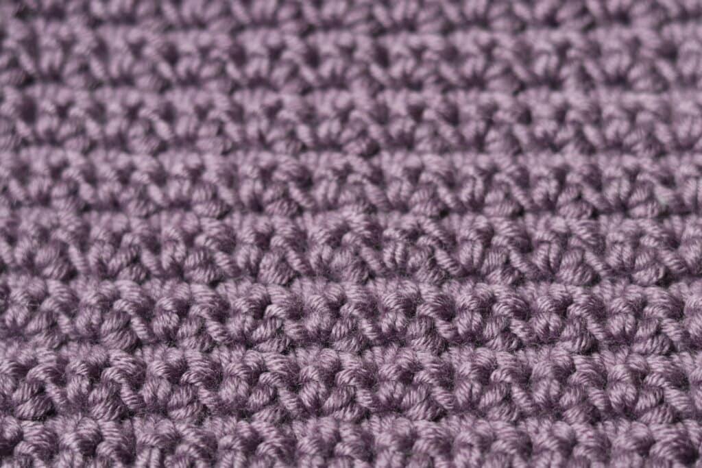 close up of the alternate stitch