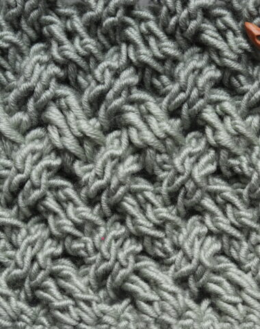 celtic weave crochet stitch