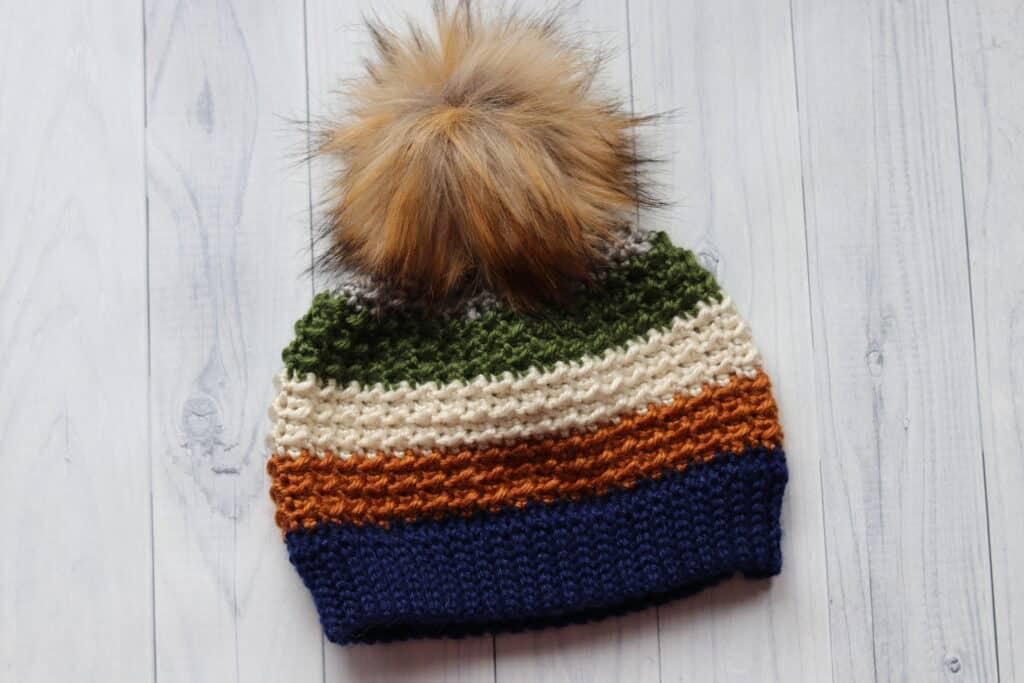 crochet beanie pattern for women