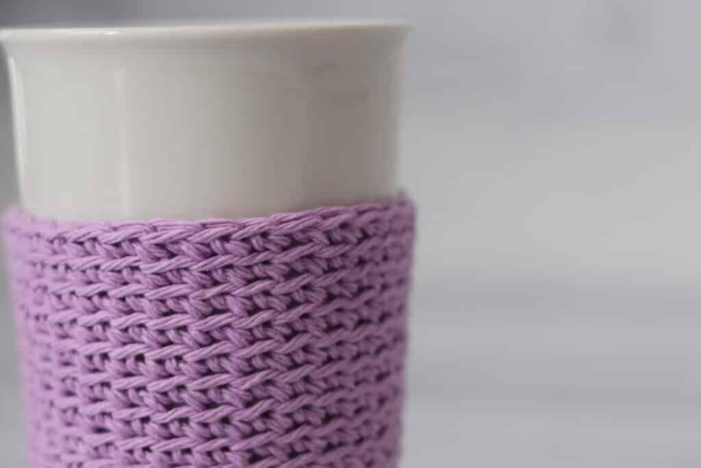 crochet cup cozy pattern