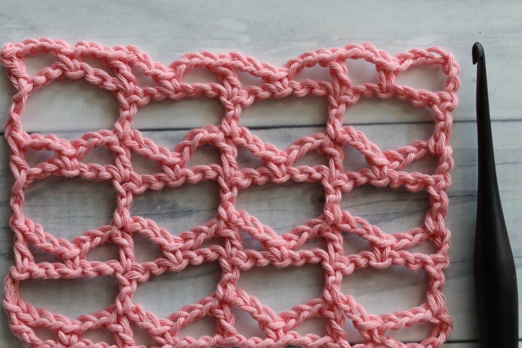 the Lacet crochet stitch