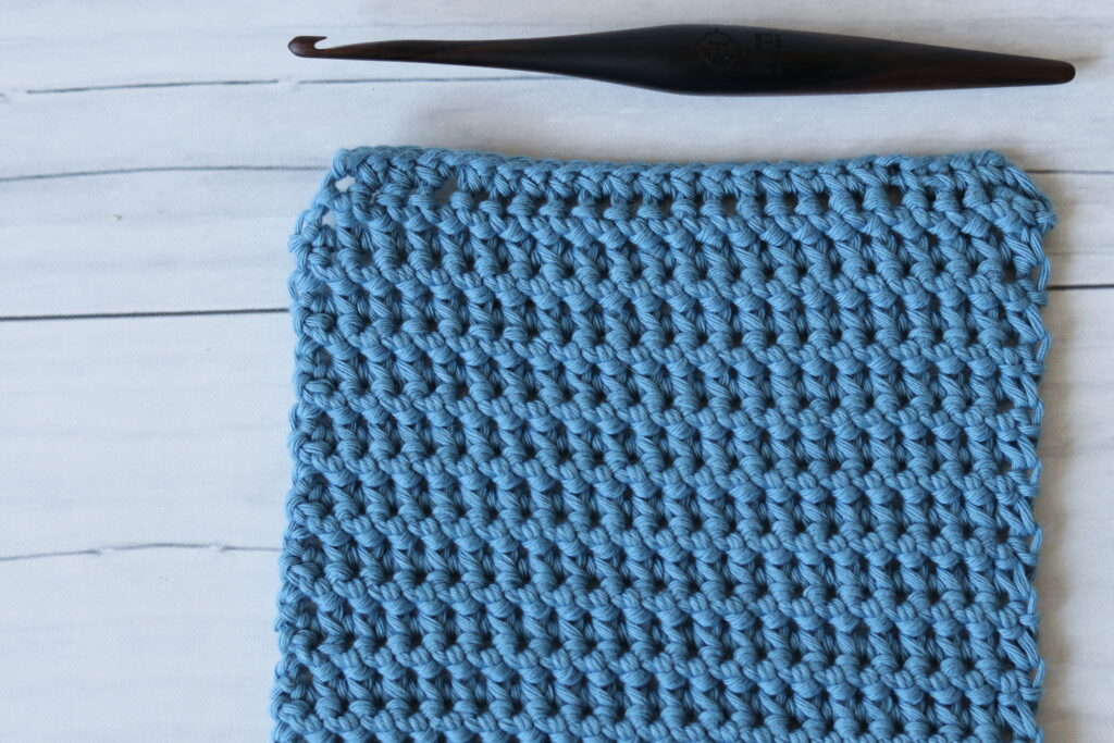 paired single crochet stitch
