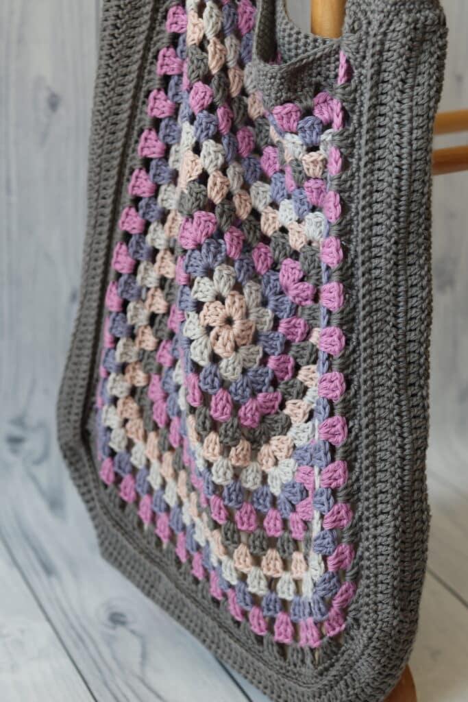 granny square market bag